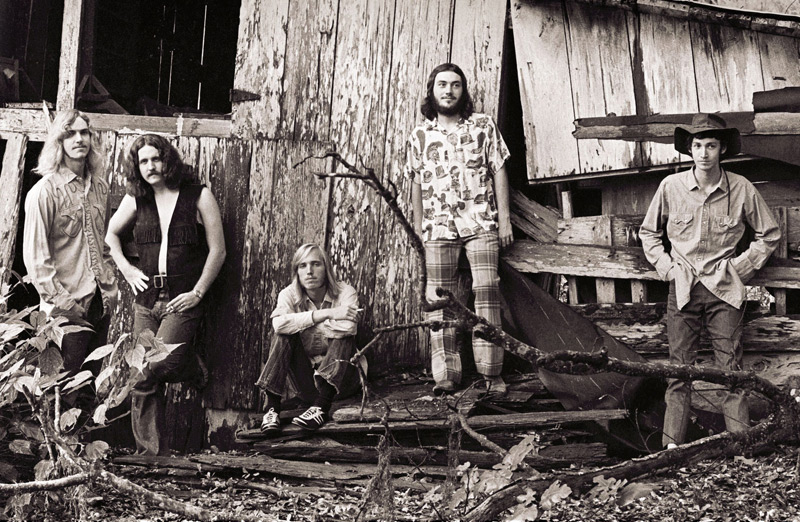 Mudcrutch: Tom Leadon, Jim Lenahan, Petty, Randall Marsh, Mike Campbell, 1970